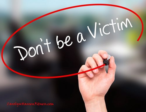 Shift Out of Victim Mentality…