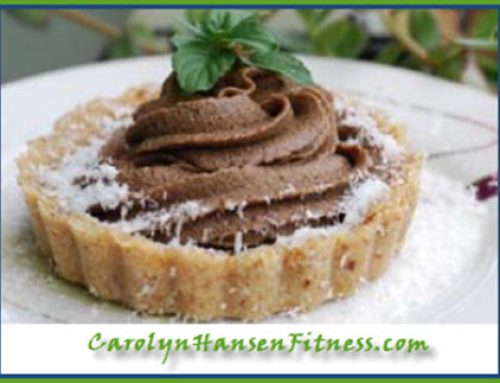 Yummy Raw Chocolate Avocado Pie