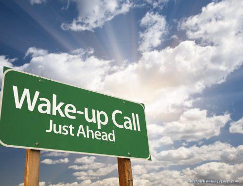 Covid Wake-Up Call Savvy