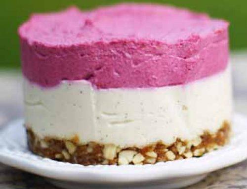 Nutritously Delicious Lemon Raspberry Cake